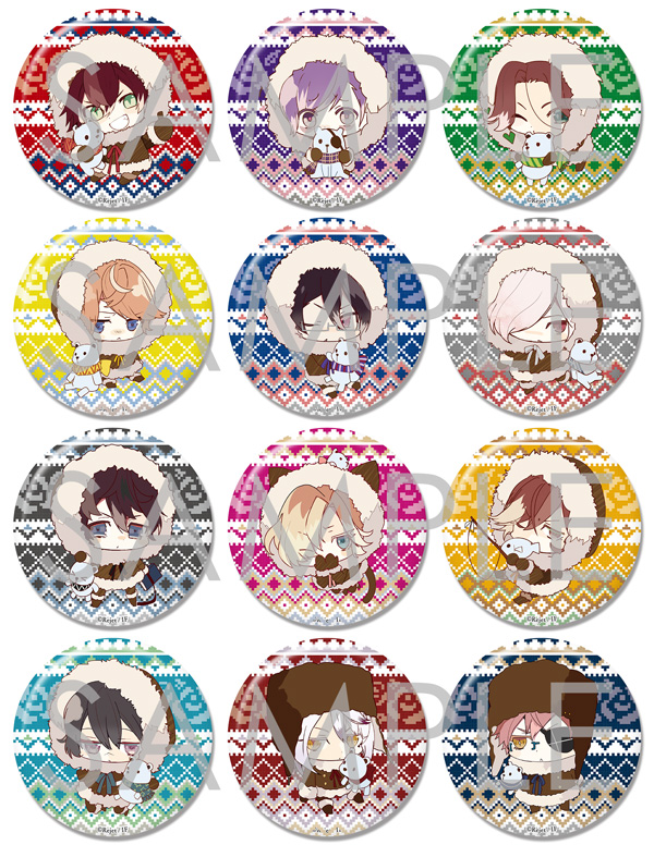 【50%OFF_SUMMER_SALE_2017】【SKiT Dolce限定】DIABOLIK LOVERS ビッグ缶バッジ2015 Vol.5