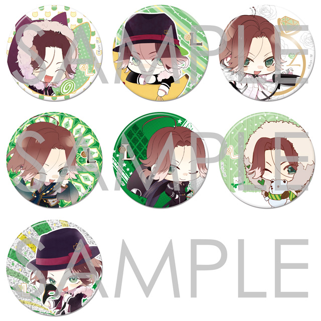 【50%OFF_SUMMER_SALE_2017】DIABOLIK LOVERS ちびオンリーワン缶バッジ ライトVer.