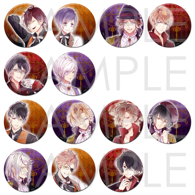 DIABOLIK LOVERS CHAOS LINEAGE ビッグ缶バッジ