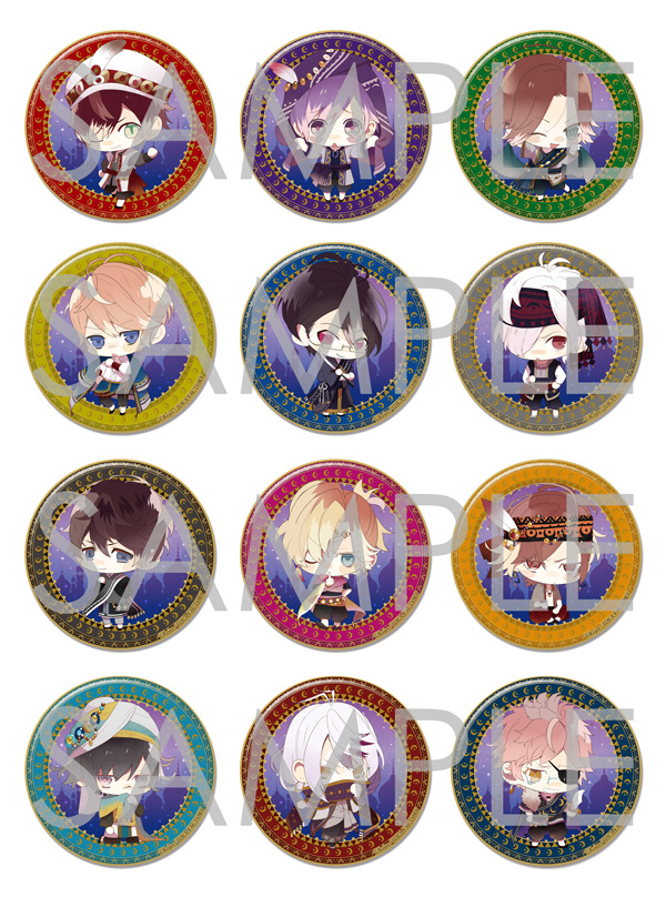 DIABOLIK LOVERS Limited Shop オリジナルビッグ缶バッジ