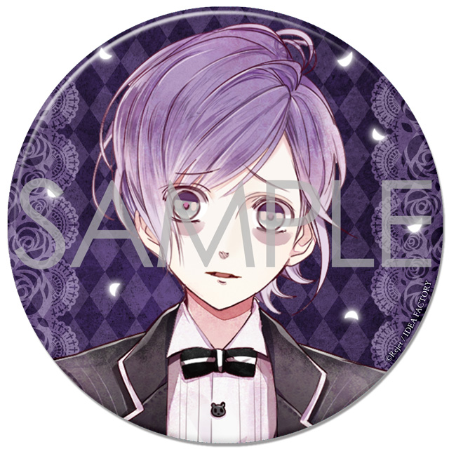 SKiT Dolce限定 DIABOLIK LOVERS BLOODY BOUQUET ドS級ビッグ缶バッジ カナト
