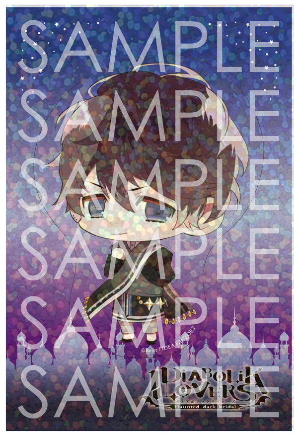 DIABOLIK LOVERS Limited Shop  クリアステッカー ルキ
