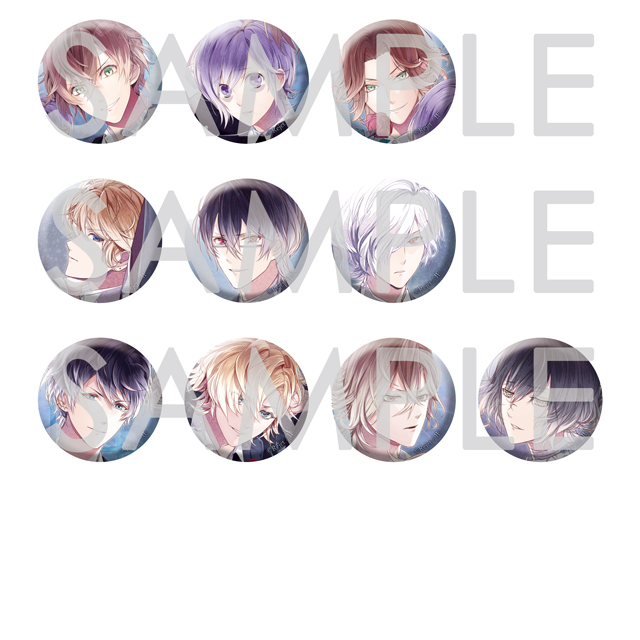 DIABOLIK LOVERS where is Love? 缶バッジ