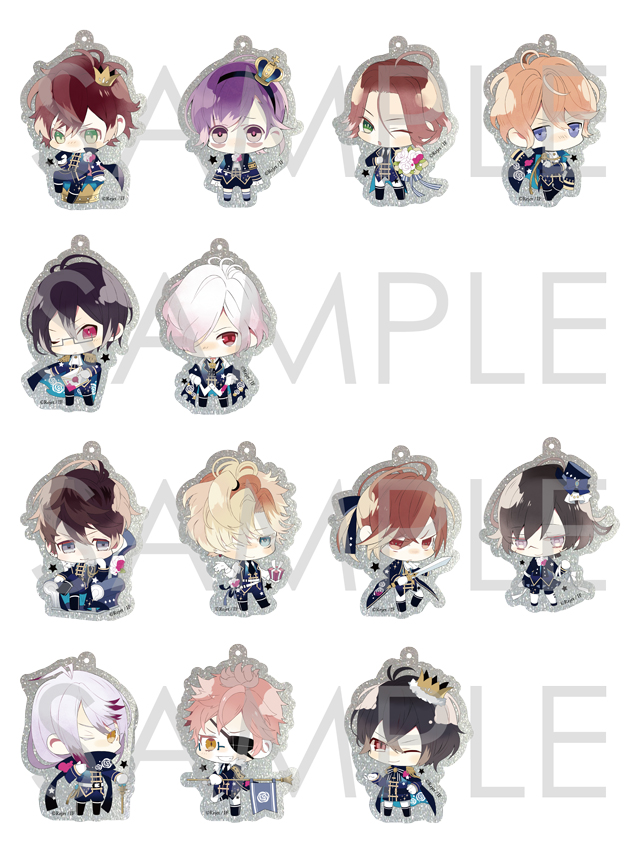 【30%OFF_SUMMER_SALE_2017】Rejet Fes.2017 DIABOLIK LOVERS キラキラアクリルストラップ
