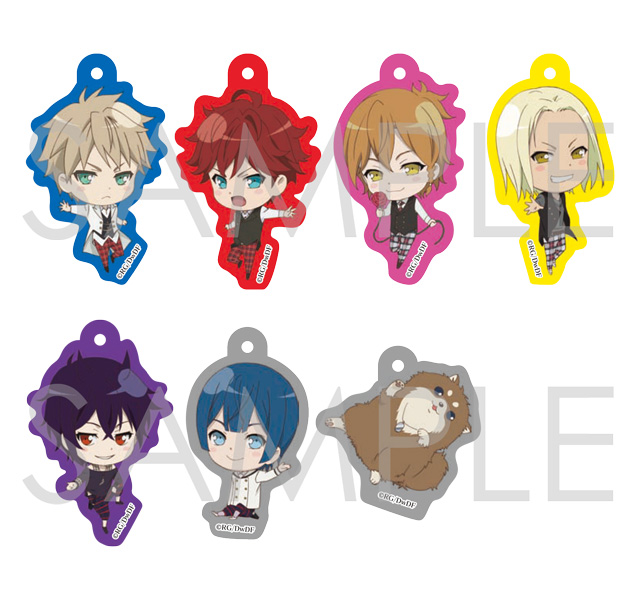 【30%OFF_WINTER_SALE_2017】Dance with Devils -Twin Lead- キラキラアクリルストラップ